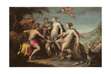 The Judgement of Paris Giclee Print by Johann or Hans von Aachen