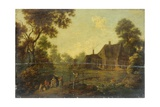 Landscape with a Footbridge Giclee Print by George, of Chichester Smith