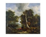 The Forest, C.1660 Giclee Print by Jacob Salomonsz. Ruysdael