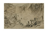 Patamango Waterfall, 1851 Giclee Print by Thomas Baines