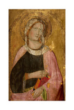 Female Saint Holding a Book Giclee Print by Agnolo Gaddi