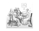To Make Herself Agreeable to All', Illustration from 'Pride and Prejudice' by Jane Austen,… Giclee Print by Hugh Thomson