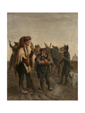 Peasants Giclee Print by Louis Leopold Boilly