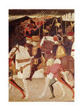 The Story of Alatiel: Alatiel on Horseback Giclee Print by  Master of the Jarves Chest