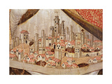 Detail of San Gimignano, C.1391 Giclee Print by Taddeo di Bartolo