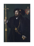 Portrait of a Member of the Palmer Family, C.1539 Giclee Print by Gerlach Flicke