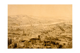 Florence, View from Above Bellosguardo Giclee Print by Alfred Guesdon