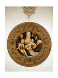 The Holy Family and St. John the Baptist Giclée-tryk af Domenico Beccafumi