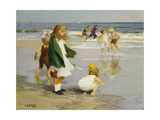 Play in the Surf Giclee Print by Edward Henry Potthast