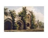 A View of a Mosque, at Rajemahel, 1785-88 Giclee Print by William Hodges