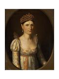 Portrait of Elisa Bonaparte, C.1806 Giclee Print by Stefano Tofanelli