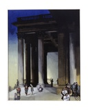St. Martin in the Fields Giclee Print by Blamire Young