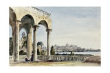 The Villa Doria at Genoa, 1829 Giclee Print by Robert Henry Cheney