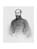 Armand Barbes as a Representative of the People at the Constituent Assembly, Engraved by Jannin Giclee Print