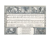 Who Liveth So Merry in All This Land', Song Illustration from 'Pan-Pipes', a Book of Old Songs,… Giclee Print by Walter Crane