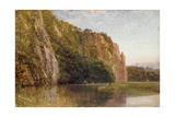 Morwell Rocks, on the Tamar, 1871 Giclee Print by George Cole
