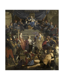 Allegory of the Court of Justice of 'Gedele' in Ghent, C.1627-28 Giclee Print by Theodor Rombouts