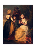 Flageolet Players, C.1780s Giclee Print by Rev. Matthew William Peters