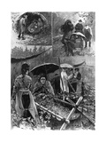 With the Distressed Hop-Pickers in Kent, from 'The Illustrated London News', September 11Th, 1897 Giclee Print by Henry Charles Seppings Wright