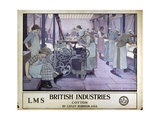 British Industries Giclee Print by Frederick Cayley Robinson