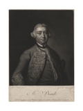 Mr. Beard, Engraved by James Mcardell (C.1729-65), 1764 Giclee Print by Thomas Hudson