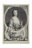 Mrs. Cibber, Engraved by J. Marchand (Fl.1749), 1749 Giclee Print by Thomas Hudson