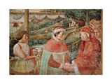 St. Augustine Leaving His Mother St. Monica and Embarking for Italy, from the Life of St.… Giclee Print by Benozzo di Lese di Sandro Gozzoli