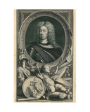 Duke of Marlborough Giclee Print by Jacobus Houbraken