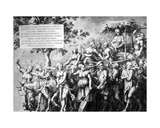 The Triumph of Poverty, Drawn by Jan De Bisschop, C.1650 Giclee Print by Hans Holbein the Younger