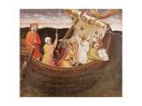 St. Fina Saving the Fishermen Giclee Print by Lorenzo di Niccolo Gerini
