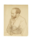 Portret of Henri Gheon Giclee Print by Théo van Rysselberghe