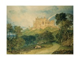 View of Belvoir Castle, 1816 Giclee Print by J. M. W. Turner