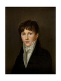 Portrait of a Young Man Giclee Print by Louis Leopold Boilly