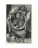 Richard I Giclée-Druck von George Vertue