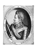 Vincenzo Gonzaga, Duke of Mantua, 1597 Giclee Print by Dominicus or Custodis Custos