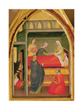 The Birth of St. Bartholomew Giclee Print by Lorenzo di Niccolo Gerini