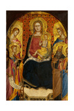 Virgin and Child with Four Saints Giclee Print by Lorenzo di Niccolo Gerini