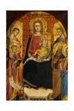 Virgin and Child with Four Saints Giclee Print by Lorenzo di Niccolo Gerini
