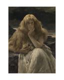 Mary Magdalene. 1887 Giclee Print by Alfred Emile Léopold Stevens