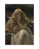 Mary Magdalene. 1887 Giclee Print by Alfred Emile Stevens