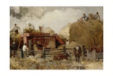 Farm Study Giclee Print by Robert Charles Goff