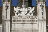 Crest Above the Main Entrance to the Guildhall, City of London, England Photographic Print