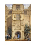 Porch at Montacute, 1842 Giclee Print by John Nash