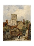New Shoreham, Sussex, 1887 Giclee Print by Richard Henry Nibbs