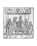 The Entry of Henri IV into Rouen, October 16th, 1596, Illustration from 'Discours De La Ioyeuse… Giclee Print