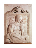 Virgin and Child Giclee Print by Jacopo Della Quercia