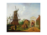The Windmill, 1787 Giclee Print by Isaak Ouwater