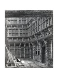 A Magnificent Mansion Lately Standing in Hart Street, Crutched Friars, Published in Smith's… Giclee Print by John Thomas Smith