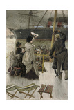 Goodbye, on the Mersey, 1880 Giclee Print by James Jacques Joseph Tissot