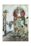 An Oriental Atrium Giclee Print by Josep Tapiro Baro